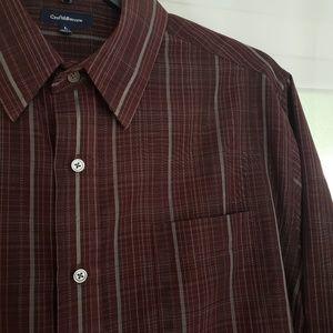 Croft & Barrow Long Sleeve Dress Shirt - Large L
